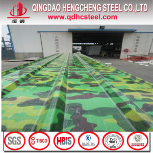 SGCC Prepainted Galvanized Corrugated Steel Roof Sheet pictures & photos