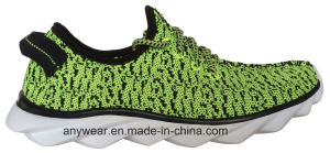 China Brand Comfort Flyknit Woven Casual Shoes (816-7936) pictures & photos