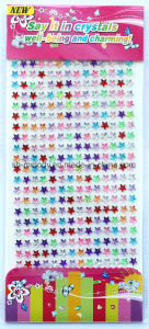Multicolor Star Rhinestone Borders/Acrylic Stickers/Mobile Phone Sticker pictures & photos
