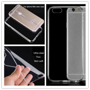 Ultrathin Transparent TPU Phone Cover for iPhone 7 pictures & photos