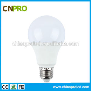 High Lumens 110lm/W 9W Warm White LED Light Bulb pictures & photos