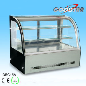 Bakery Cake Refrigerating Showcase with Digital Thermostat Indicator (A series) pictures & photos