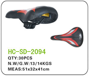 Leather Bicycle Parts Saddle for MTB (SD-2094) pictures & photos