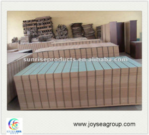Decorative Panel Slotted MDF for Office Furniture/Cabinet pictures & photos