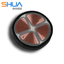 4 Core 0.6/1kv Cu/XLPE/Swa/PVC Power Cable pictures & photos