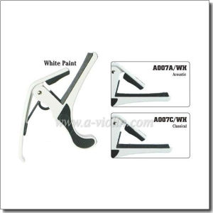White Paint Classical Guitar Capo/Guitar Accessories Capo (A007C-WH) pictures & photos