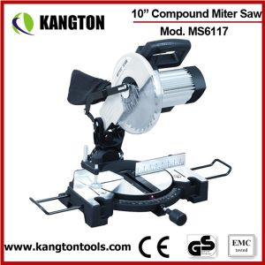 "1800W 254mm 10"" Miter Saw with Induction Motor 10 Inch Mite Saw pictures & photos"