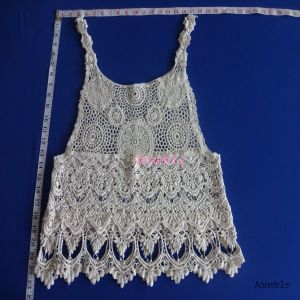 Sexy Laday′s Crochet Lace Top