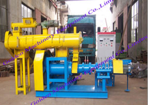 China Floating Fish Feed Pellet Extruder Pellet Press Machine pictures & photos