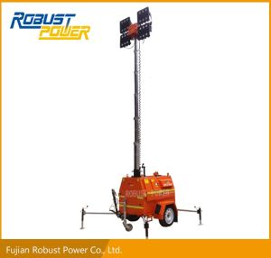 4*720W LED Lamps Diesel Generator Light Tower pictures & photos