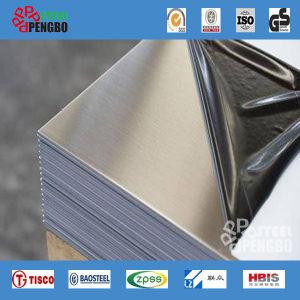 201/304/316/430 Cold Rolled Stainless Steel Plate pictures & photos