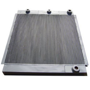 Aluminum Air Compressor Cooler Plate Type Air Cooled Heat Exchangers pictures & photos