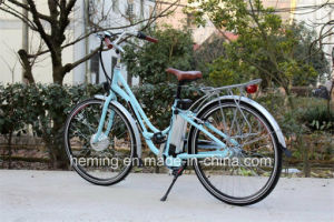 "28"" City Electric Bike with Shimano 3 Speed pictures & photos"
