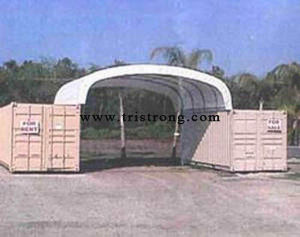 Canopy, Container Tent, Container Shelter (TSU-2020C; TSU-2040C; TSU-2620C; TSU-2640C) pictures & photos