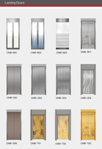 Villa Elevator Home Lift with Mirror Stainless Steel pictures & photos