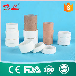 Silk Fabric Waterproof Surgical Ahdesive Plaster, Medical Silk Tape pictures & photos