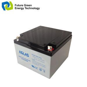 12V 17ah Solar Maintenance Free VRLA UPS Storage Battery pictures & photos