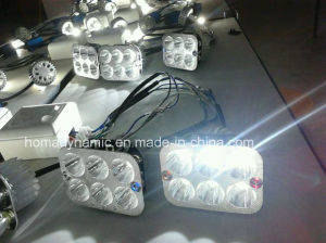 Motorcycle LED Headlight A07-Y1 Two Side LEDs pictures & photos