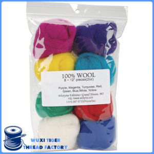 Colorful Wool Yarn Roving for Needle Felting Hand