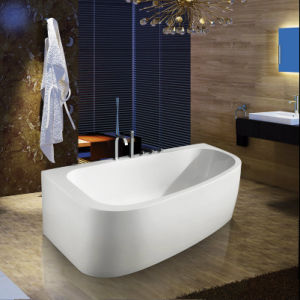 China Acrylic Freestanding Baths Back To Wall Corner