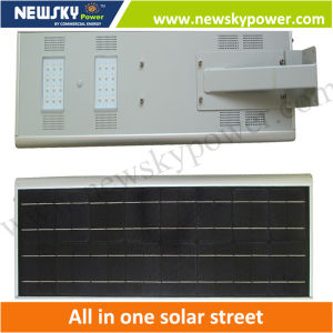 China Wholesale 8W Integrated Solar Street Light pictures & photos