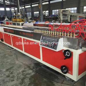 PVC Marble Profile Extrusion Production Line pictures & photos