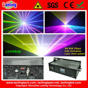 5W Logo Laser Projector Disco Party Light pictures & photos