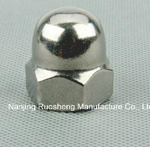 Stainless Steel Hexagonal Nut-Machining-for Packaging Machine