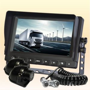 Heavy Equipment High Brightness Digital Camera Rearview with Trailer Connection pictures & photos