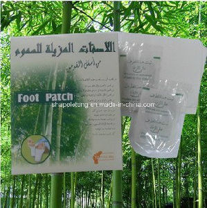 Arabic Language Chinese Detox Foot Patches Weight Loss Patch pictures & photos