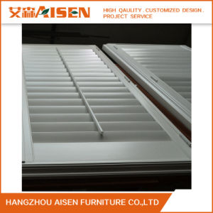 Hangzhou Top Quality Wood PVC Plantation Shutter Manufacturer pictures & photos