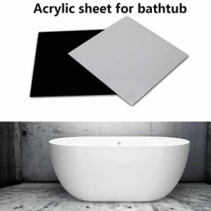 Acrylic Plastic Sheet for Bathtub Decoration