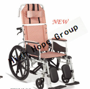 High Hope Medical - Aluminium Alloy Manual Wheelchair-Ky954lgc pictures & photos