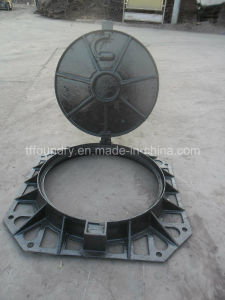 Heavy Duty Manhole Cover for Electrical Usage with Lock System pictures & photos