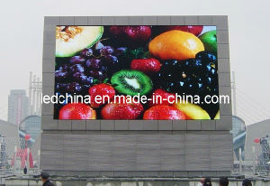 Energy Saving P20 Outdoor Full Color LED Board pictures & photos