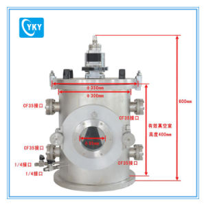 Ultra-High Vacuum Thermal Evaporation Coater with Four Heating Sources (10-6 torr) pictures & photos