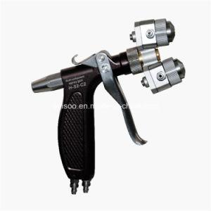 Chrome Double Head Paint Gun (H-S2-C2)