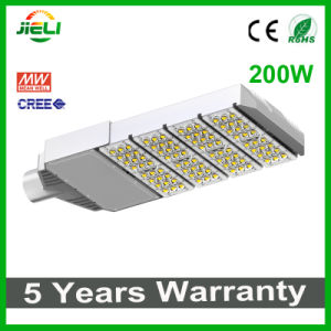 Top Quality CREE+Meanwell 200W Project LED Street Light pictures & photos