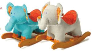 Factory Supply Rocking Animal-Stuffed Elephant Rocker pictures & photos