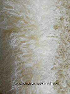 Beige Decatize Faux Fur Fluffy Design Collar Fabric pictures & photos