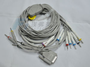 Medex One Piece 16 Lead EKG /ECG Cable pictures & photos