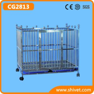 Stainless Steel Dog Cage (CG2813) pictures & photos