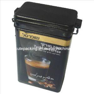 FDA Approved Rectangular Coffee Tin Box (CT03)