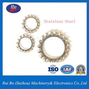 Stainless Steel DIN6798A External Serrated Lock Washer Internal and External Tooth Lock Washer pictures & photos