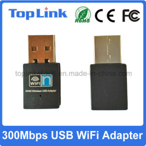 Low Cost 2T2R 802.11n Realtek Rtl8192 300Mbps USB Wireless WiFi Dongle pictures & photos