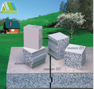 EPS Cement Sandwich Insulated Exterior Wall Panel for Buildings pictures & photos