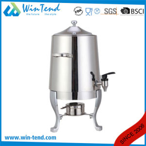 Commercial Hotel Restaurant Stainless Steel Portable Manual Coffee Urn with Stand Base pictures & photos