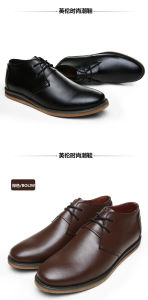 Genuine Leather Handmade Men Dress Formal Shoes pictures & photos