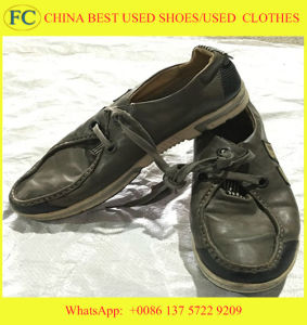 Big Size and Best Qualtiy Cheap Wholesale Used Sports Shoes (FCD-002) pictures & photos