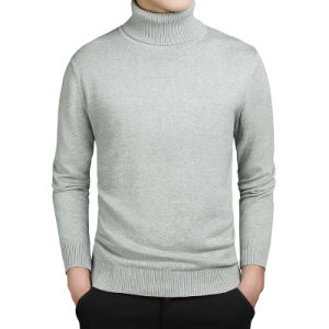 Turtleneck Sweaters Men Solid Long Sleeve Pullovers Men Sweater Knitwear Jumpers Jersey Hombre Cheap Winter Sweaters pictures & photos